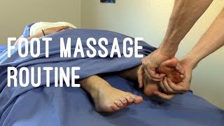 Massage Tutorial: Deep tissue foot massage techniques