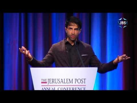 """Son Of Hamas"" aka ""Green Prince"" speaks at Jerusalem Post 2016 Conference"