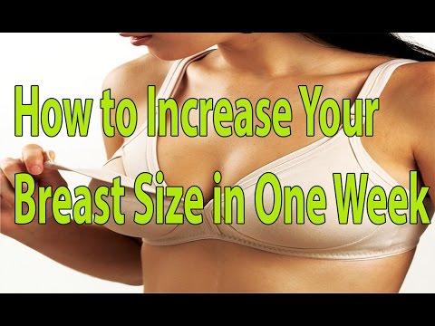 How To Increase Your Breast Size In One Week Health Tips Hindi Telugu