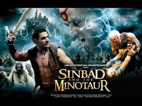 Sinbad And The Minotaur│Full Fantasy Movie