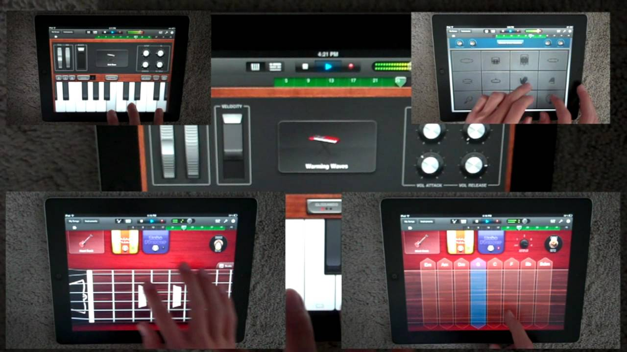 Ipad 1 vs Ipad 2 Garageband hd Ipad 2 Garageband Video