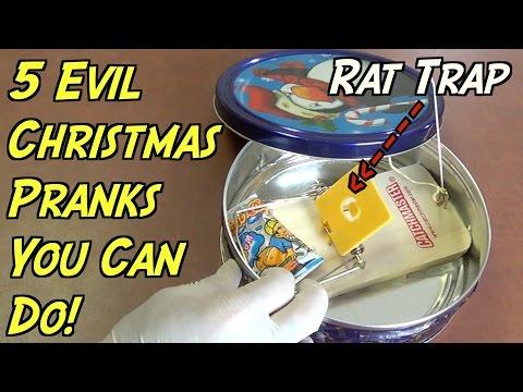 5 Evil Christmas Pranks You Can Do- HOW TO PRANK