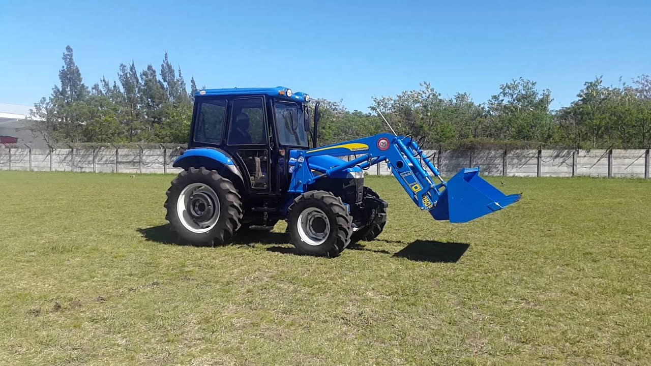 New Holland Tractor People : Cargadora frontal om f en tractor new holland td