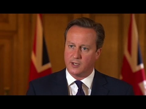 David Cameron responds to Haines' beheading