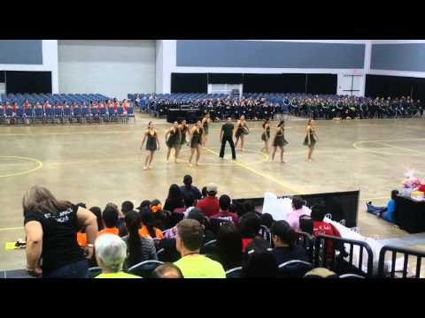 Lopez High School Golden Stars Officer Contemporary at ADTS Competition 2014