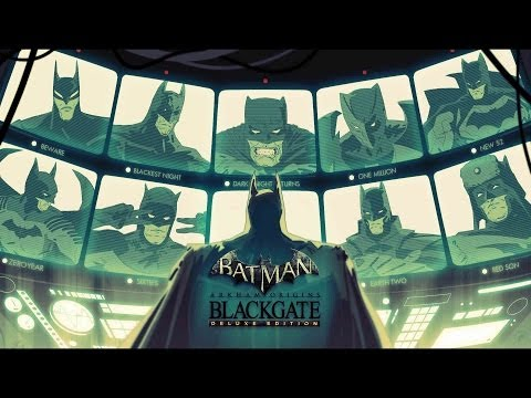 Batman: Arkham Origins Blackgate. Deluxe Edition