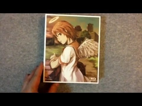 Haibane renmei blu ray box japanese import anime package review