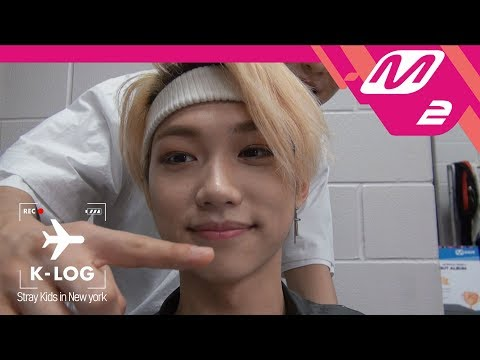 [K-LOG] 스트레이 키즈(Stray Kids) Ep.1 @KCON2018NY (ENG SUB)