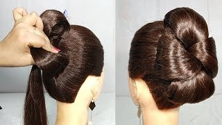 Simple hairstyle for Wedding/party || Hairstyles for Girls || Hair style girl || hairstyles