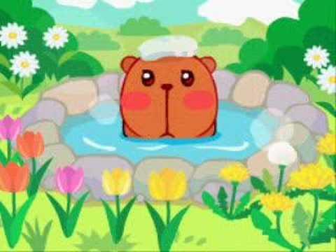 秘湯!カピバラ温泉 カピムービー