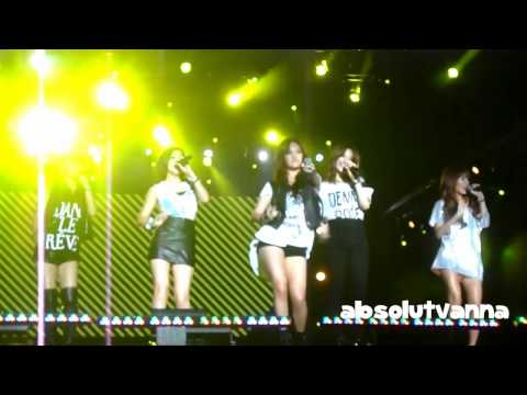 [fancam] 110924 4minute Hot Issue Korean Music Wave In Malaysia video
