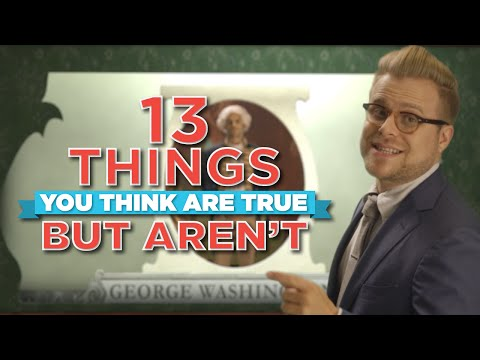 13 Things You Think Are True, But Aren't video