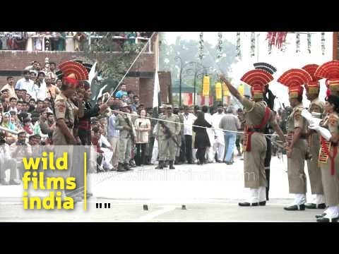 Pakistan Vs India At Wagah Border. Who Is The Best? video