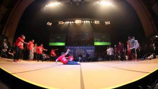 SOUL MAVERICKS vs DYNAMIC ROCKERS - Crew Quarter Final (UK B-Boy Champs World Finals 2011)