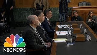 Senate Intel Hearing: 'Ample Examples' Of Russian Interference In European Elections   NBC News
