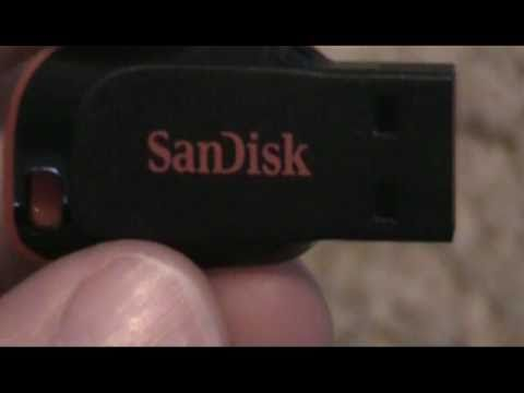 SanDisk Cruzer Blade 8GB Review