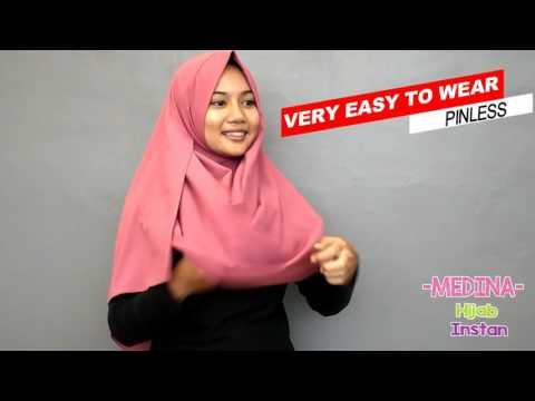 Video jilbab instan pashmina