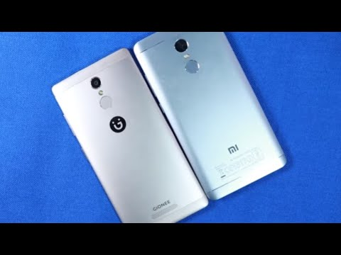 Gionee S6s vs Redmi Note 4 Speed Test