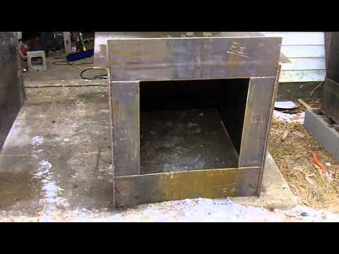 Homemade Outdoor Wood Burning Boiler PDF Woodworking