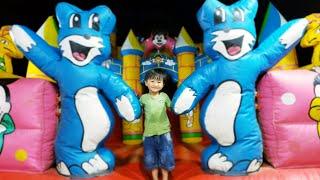 Đồ chơi trẻ em ❤️ Tin Siêu Còi và anh Hai được mẹ đưa đi chơi ở khu vui chơi