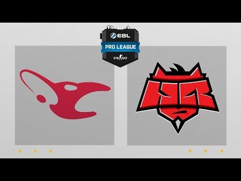 CS:GO - Mousesports vs. Hellraisers [Mirage] Map 1 - ESL Pro League Season 4 - EU Matchday 26