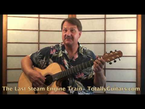 John Fahey - The Last Steam Engine Train Guitar lesson