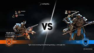 For Honor with my new bud
