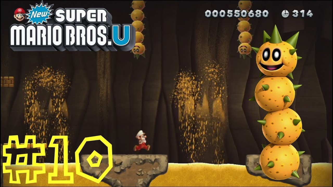 New Super Mario Bros U Layer Cake Desert 2 Perilous