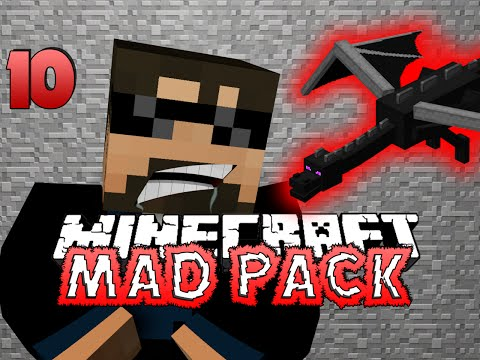 Minecraft Mad Pack 10 - THE ENDER DRAGON