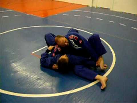 BJJ Instruction: Armlock from Kesa Gatame using Foot Image 1