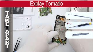 Как разобрать 📱 Explay Tornado Разборка и ремонт