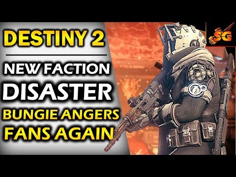 DESTINY 2  NEW FACTION RALLY IS A DISASTER! BUNGIE ANGERS FANS WITH NEW JANUARY 2018 FACTION RALLY