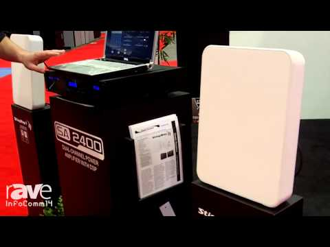 InfoComm 2014: Stealth Acoustics Talks About New High-Powered 2 Channel Amplifier, SA 2400