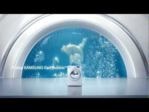 Pralka Samsung Eco Bubble™ - Technologia