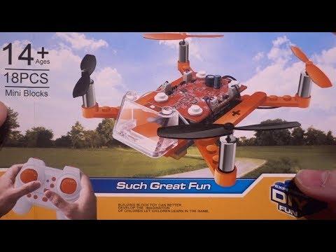 Build a Lego Quadcopter