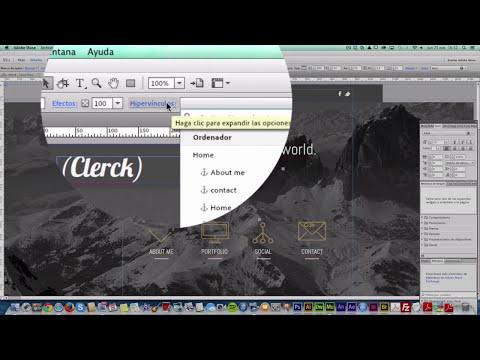 Tutorial Adobe Muse | Cómo utilizar herramienta anclaje