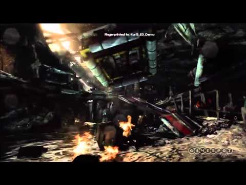 E3 2011 GamesSpot Tomb Raider gameplay extended