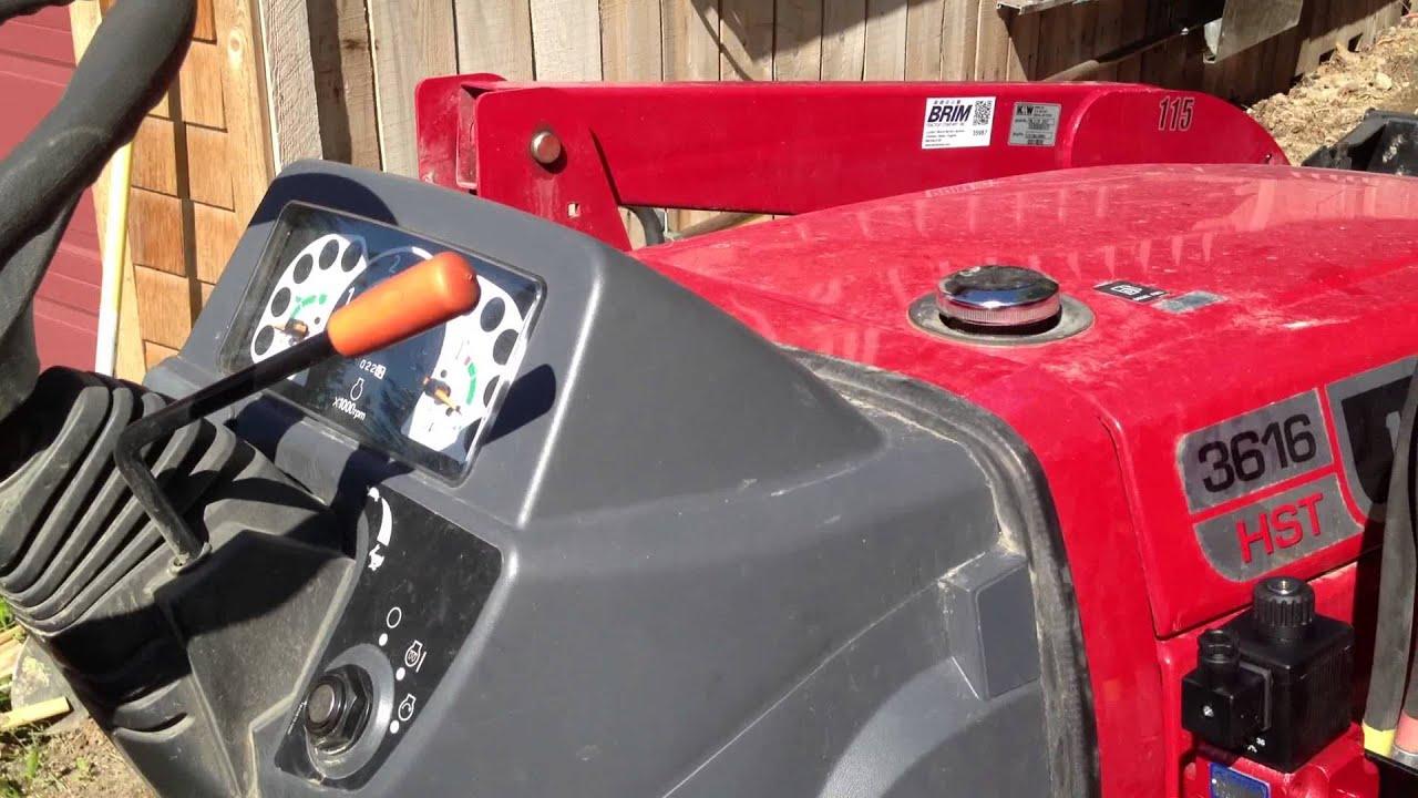 Mahindra Rear Hydraulic Kits : Rear remote hydraulics on mahindra tractor youtube