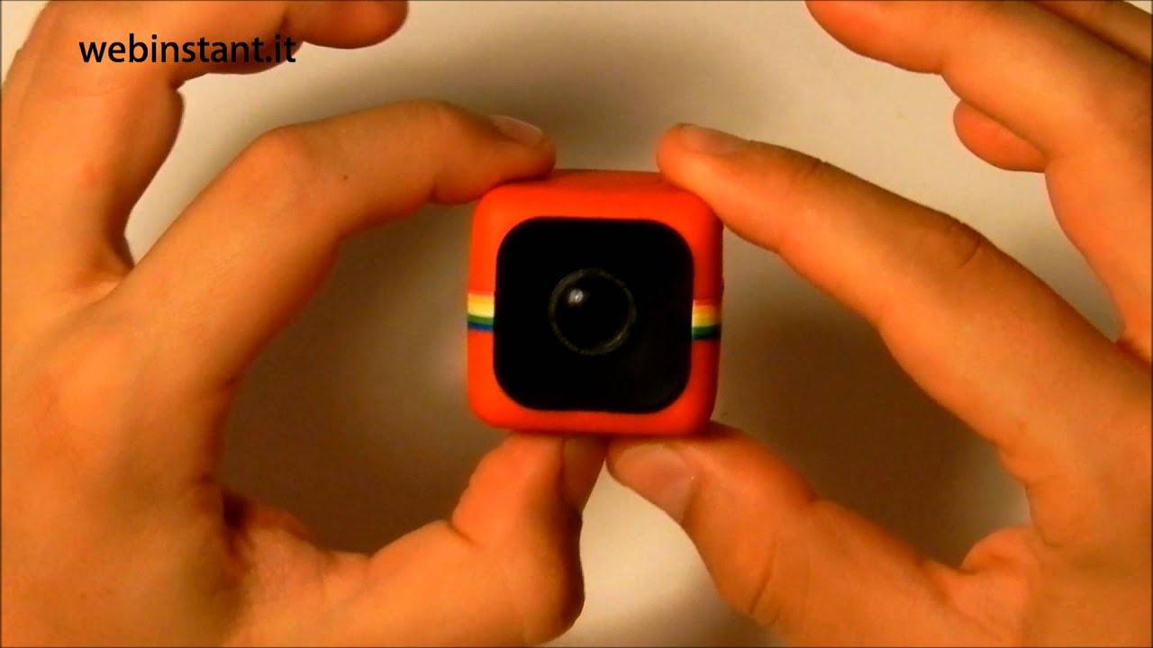 polaroid cube camera recensione italiana caratteristiche e