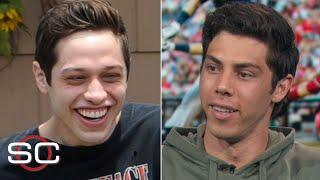 Brewers OF Christian Yelich talks his beer-chugging skills, Pete Davidson comparisons | SportsCenter