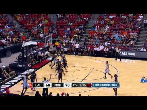 Summer League: Los Angeles Lakers vs New Orleans Pelicans