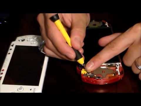 HOW TO FIX SONY PSP CHARGING POWER PORT