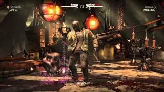 Mortal Kombat X Jason VS Mileena