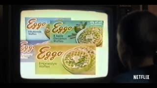 Stranger things - Eleven likes eggos