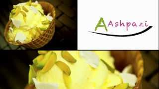 Saffron ice cream (Akbar mashti) bastani recipe