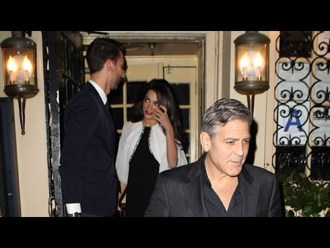 George And Amal Clooney Have Date Night Amid Divorce Rumors