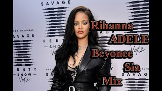Rihanna Beyonce Adele Selena Gomez Justen B. Sia vs. Düet -Hit parçalar 2017- Video Mix Efsane
