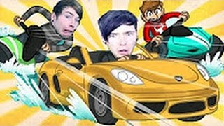 DanTDM I'M GUNNA ROB YA!! | A Very Organised Thief
