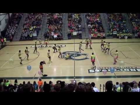 South County Boys Varsity Dance (BVD) Team 2013  Neon Out