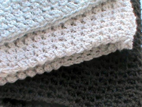 Crochet Stitch Ltr : How to Basic treble crochet a scarf ? Knitting & Crochet